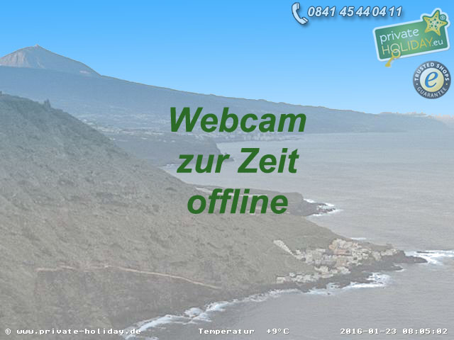 Webcam Tenerife North