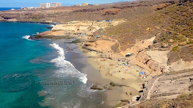 Hippie beach – La Caleta