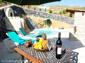 Holiday apartment on a finca