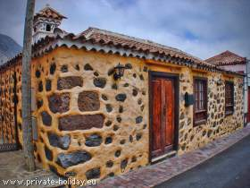 Canarian house in the Teno