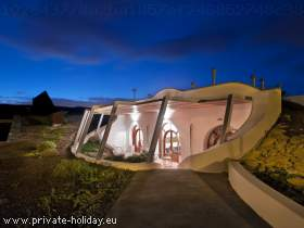 Holiday house in eco-village