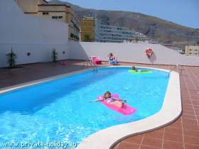 Beach apartment in Candelaria