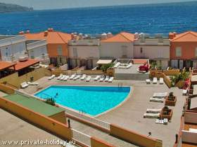 Duplex in Candelaria at beach