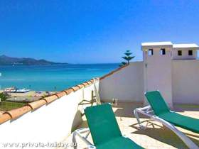 Apartment at beach of Alcudia