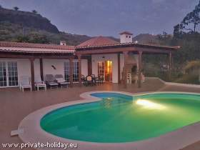 Studio at a finca with pool