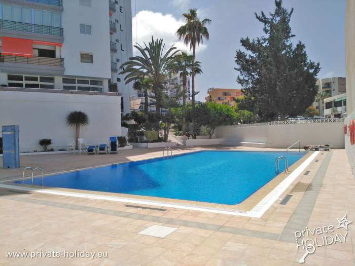 Holiday Apartment With Balcony Pool In Los Cristianos