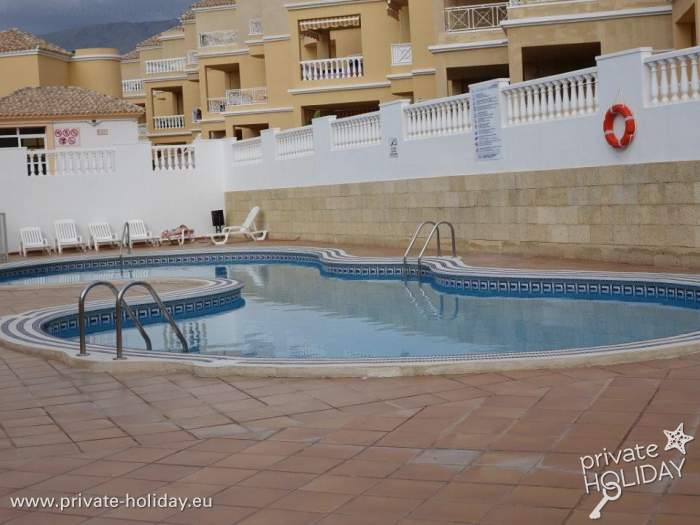 Apartment In Costa Adeje With Community Pool And Terrace
