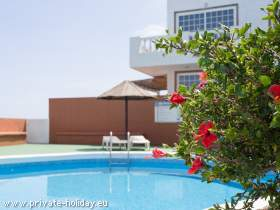 Apartment with pool in Candelaria